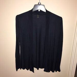 Ann Taylor open cardigan navy blue size small